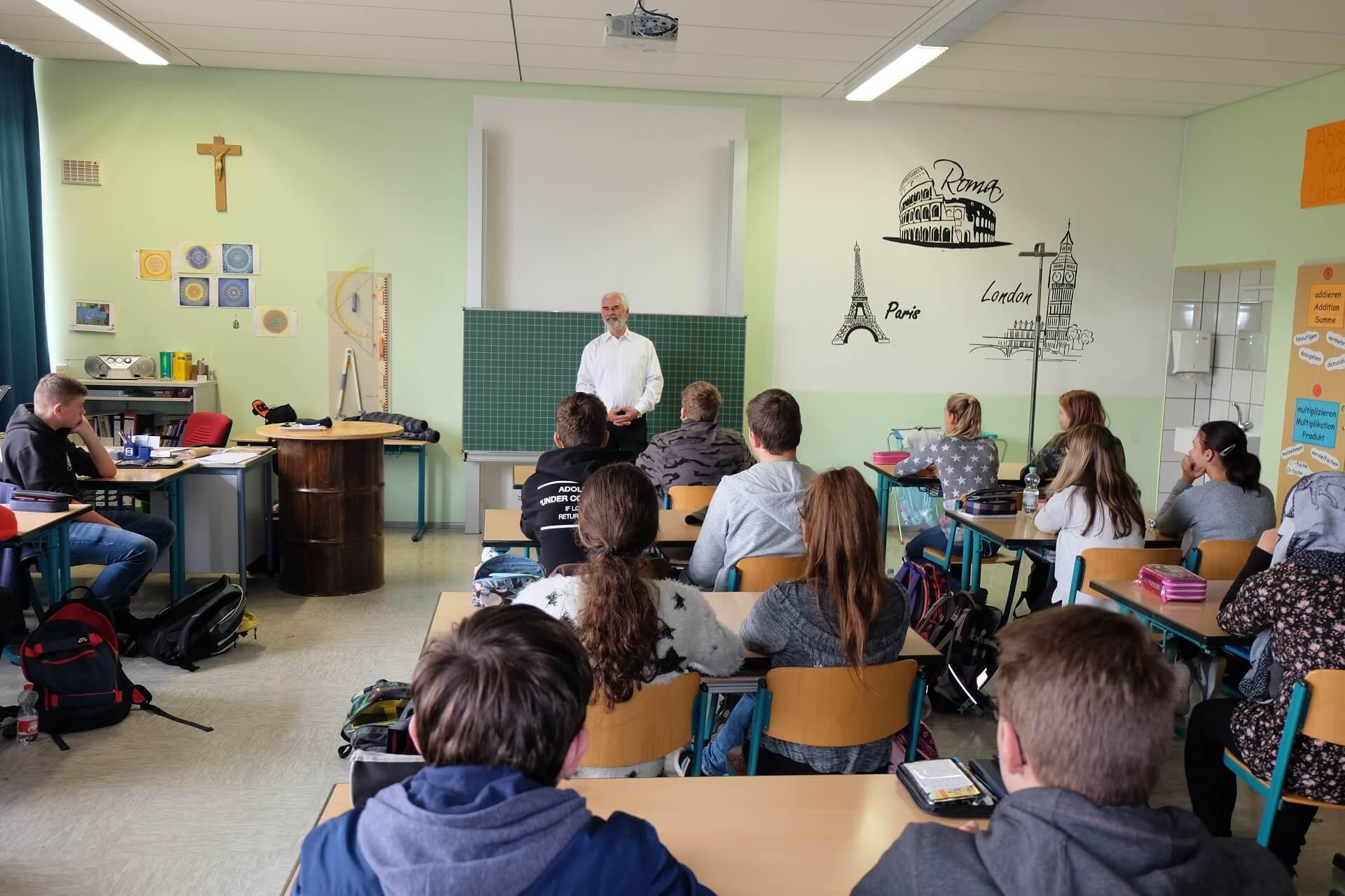 Besuch von Herr Schwabmüller im Bruck