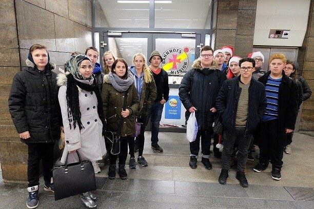 Bahnhofsmission in Nürnberg