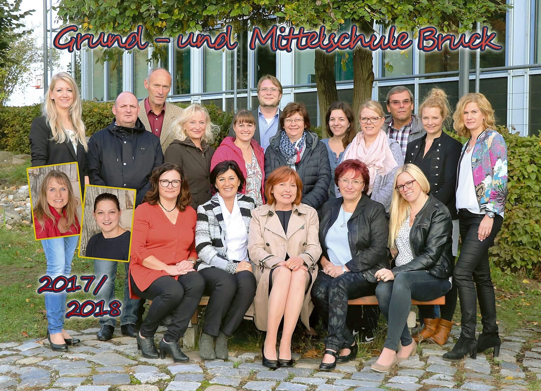 Lehrerfoto Schuljahr 2017/2018