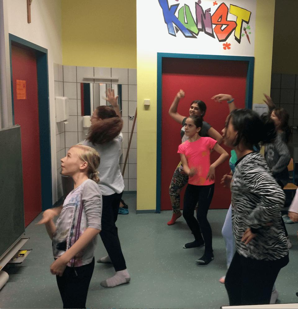 Lesenacht - Tanzen