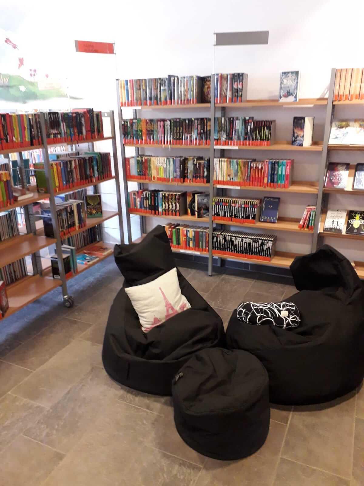 Besuch in der Marktbücherei Bruck